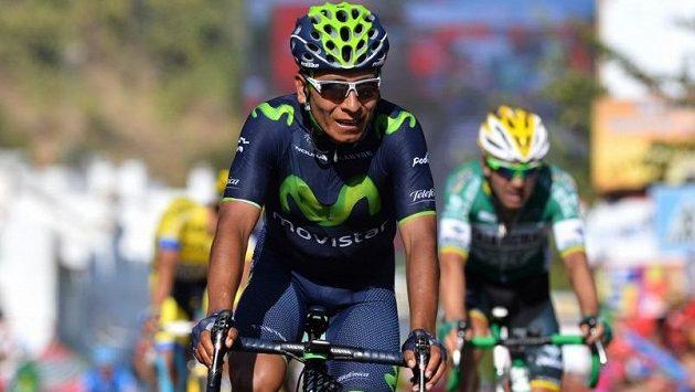 Kolumbijský cyklista Nairo Quintana.