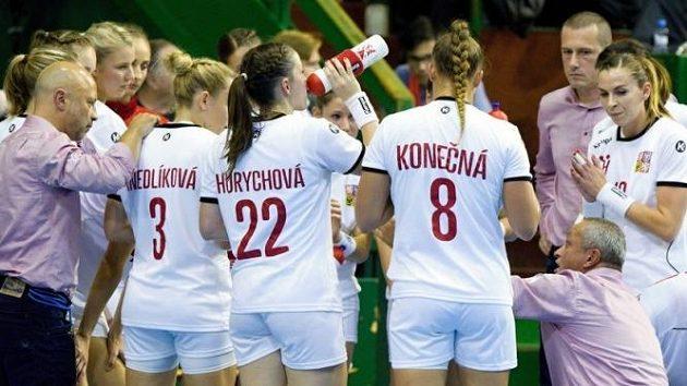 České házenkářky vstoupí čtvrtečním zápasem se Švédskem do mistrovství Evropy