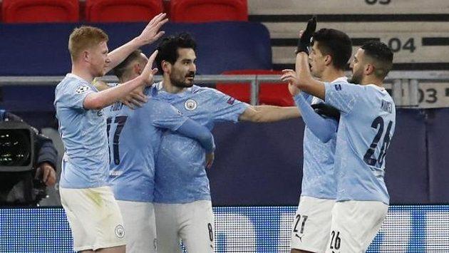 Radost fotbalistů Manchesteru City.