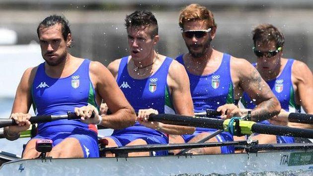 Zleva Giuseppe Vicino, Matteo Lodo, Bruno Rosetti a Matteo Castaldo