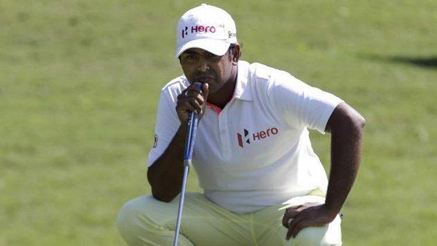 Indický golfista Anirban Lahiri