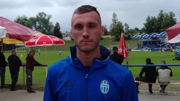 Mladoboleslavský stoper Aleksandar Šušnjar