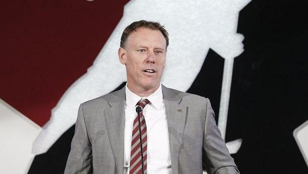 Generální manažer Kanady Sean Burke.