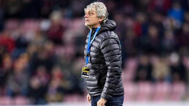Trenér Mladé Boleslavi Jozef Weber nemohl být spokojen