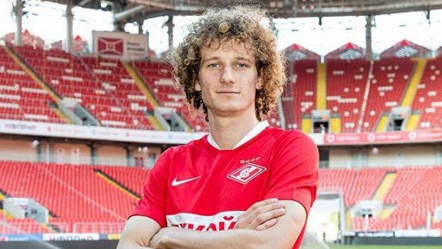 Alex Král v dresu Spartaku Moskva.