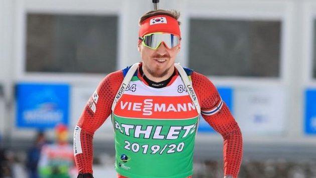 Biatlonista Timofej Lapšin