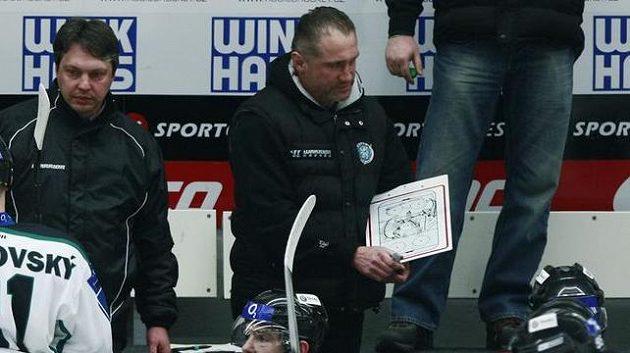 Jiří Šejba v době, kdy jako hlavní trenér vedl Mladou Boleslav.