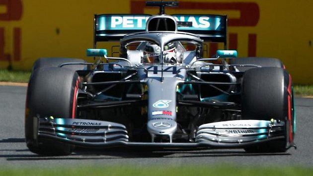 Ilustrační snímek. Lewis Hamilton.