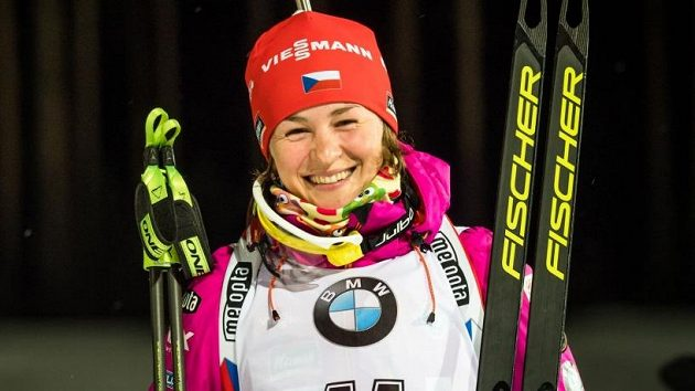 Kraus moc nerýpal, oddechla si česká biatlonová hvězda