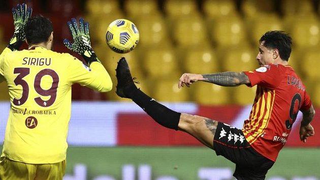 Fotbalisté Beneventa přišli o výhru nad Turínem v nastavení