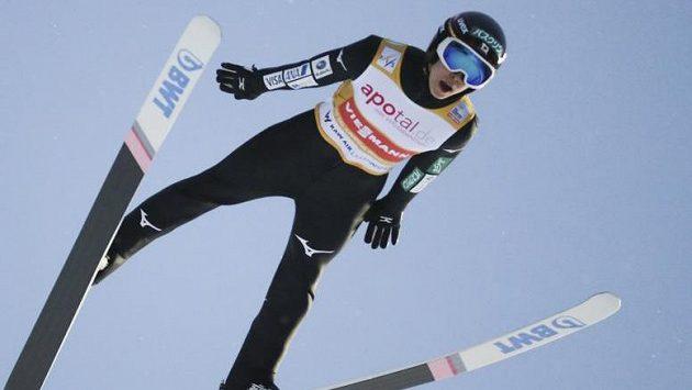 Lídr SP ve skoku na lyžích Rjoju Kobajaši zvítězil i v Trondheimu