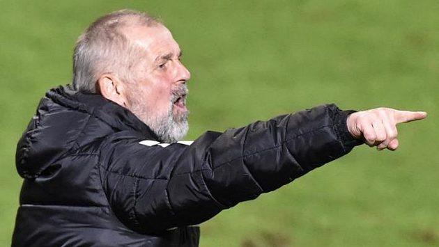 Trenér Jablonce Petr Rada nemohl být s koncovkou zápasu v Karviné spokojen, jeho tým ztratil náskok.