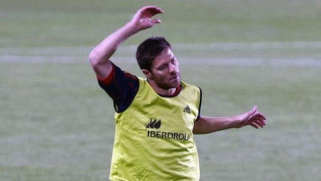 Xabi Alonso ještě v dobách, kdy byl ve španělské fotbalové reprezentaci (archivní snímek).