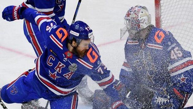 Hokejisté CSKA Moskva jsou prvními finalisty Kontinentální ligy.