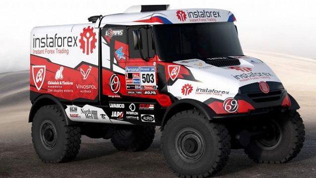 Český jezdec Aleš Loprais vyrazí na letošní ročník Silk Way Rally s novým vozem Tatra Queen 69 ReBorn.