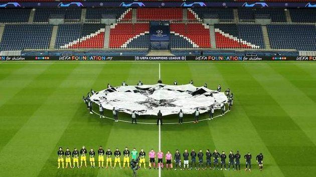 Zápas PSG s Dortmundem se hrál kvůli koronaviru bez diváků.