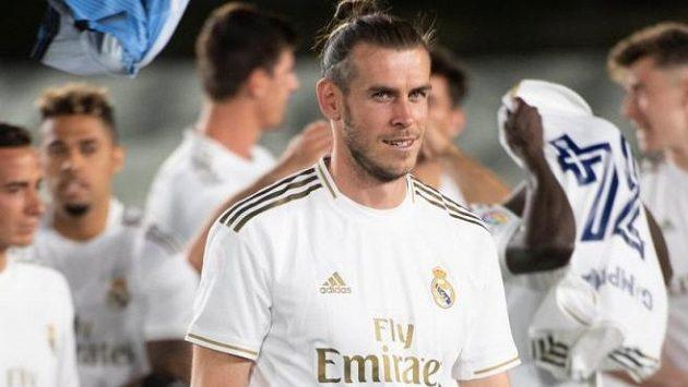 Gareth Bale nemá v Realu příliš dobrou pozici