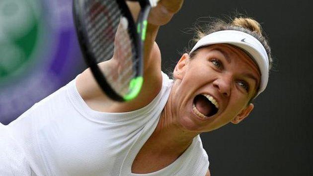 Simona Halepová si zajistila postup do semifinále Wimbledonu