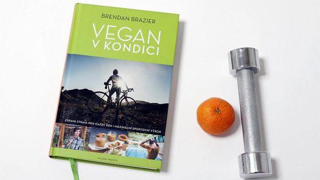 Kniha Vegan v kondici, autor Brendan Brazier.