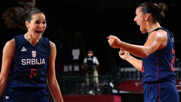 Srbské mistryně Evropy jsou opět v olympijském semifinále turnaje