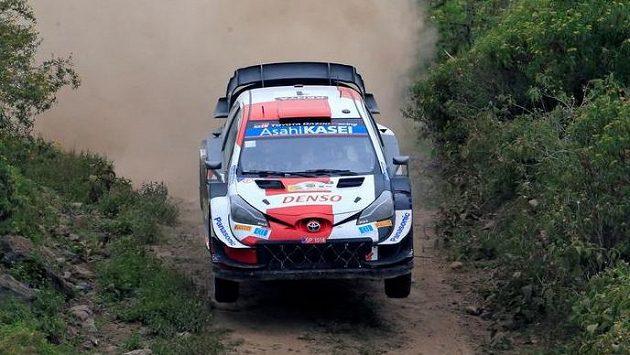 Francouz Sébastien Ogier v akci (ilustrační foto)