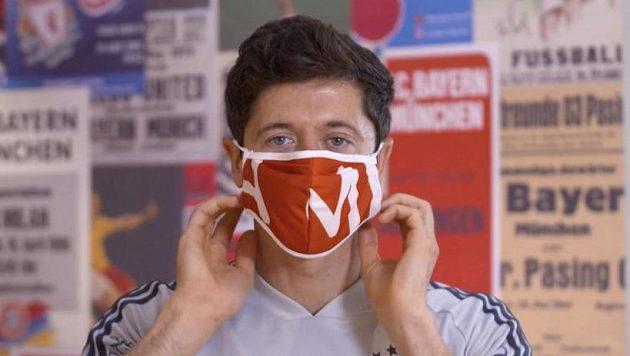 Robert Lewandowski z Bayernu.