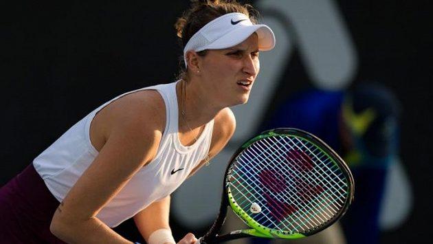 Markéta Vondroušová si zatím na turnaji v Adelaide počíná skvěle