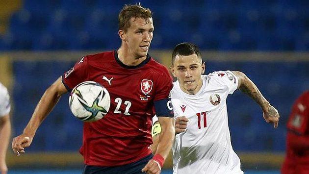 Tomáš Souček (22) a Bělorus Vitalij Lisakovič.