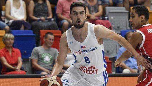 Tomáš Satoranský v reprezentačním dresu.