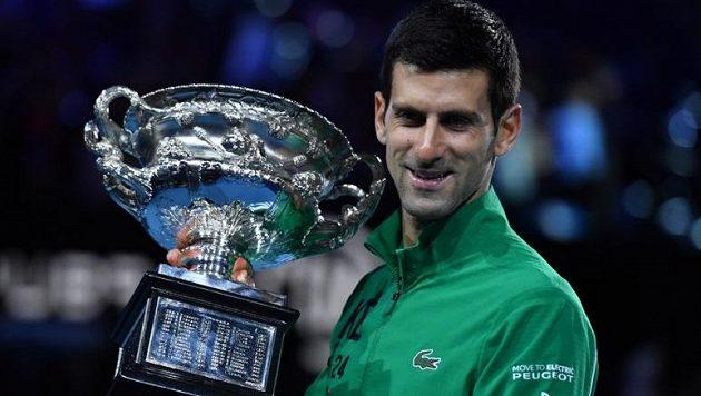 Novak Djokovič je současným vládcem světového tenisu
