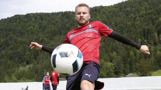 Michal Kadlec v přípravě českého národního mužstva.