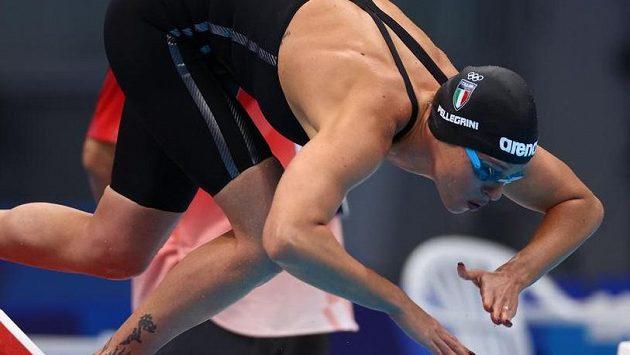 Italská plavkyně Federica Pellegriniová je novou členkou MOV