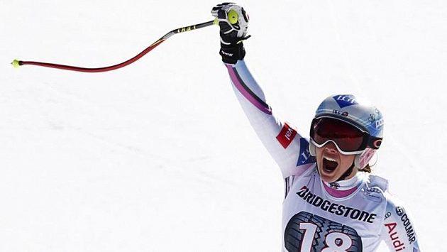 Weiratherová slaví svůj triumf v Ga-Pa.