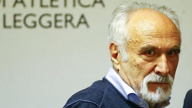 Šéf italské atletické federace Alfio Giomi.