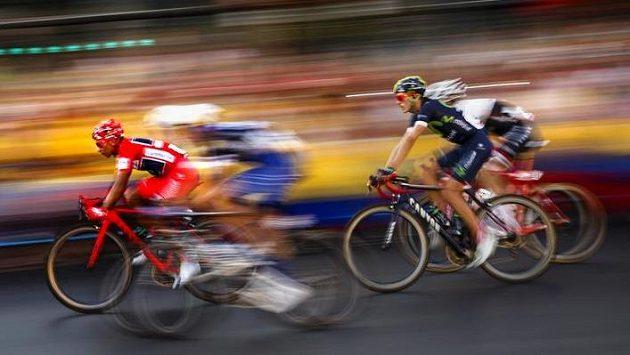 Snímek z letošní cyklistické Vuelty.
