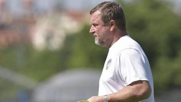 Pavel Vrba během tréninku plzeňských fotbalistů