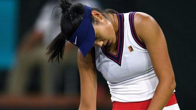 Sestřih zápasu druhého kola Indian Wells Sasnovičová - Raducanuová