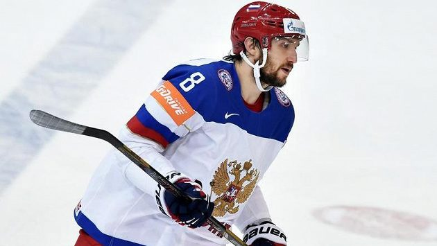 Alexander Ovečkin nastoupí za Rusko na MS