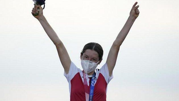 Nečekaná olympijská vítězka Anna Kiesenhoferová z Rakouska