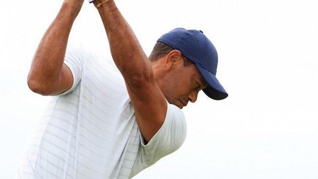 Golfová legenda Tiger Woods
