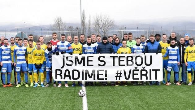 Velké gesto fotbalistů Teplic a Ústí nad Labem.