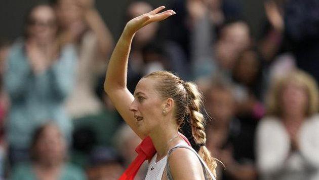 Česká tenistka Petra Kvitová se loučí s Wimbledonem už po prvním kole.