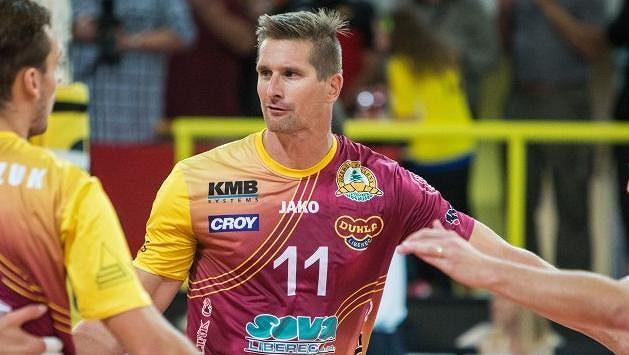 Volejbalista Jan Štokr hraje už druhým rokem v Liberci, za sebou má ale celou řadu mezinárodních štací.