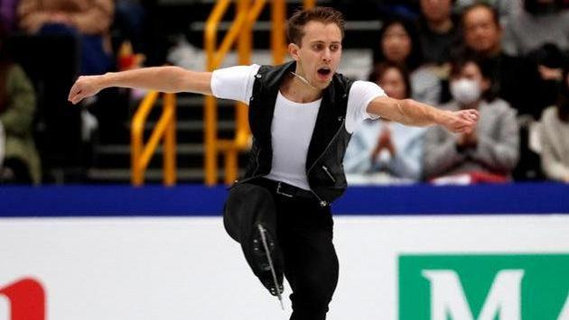 Michal Březina mohl být se svým výkonem spokojen