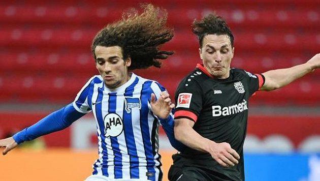 Zápas Leverkusenu s Hethou Berlín branku nepřinesl