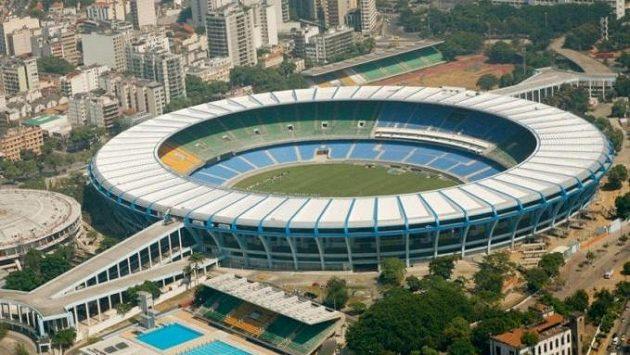 Maracaná v Rio de Janeiru, ilustrační foto.