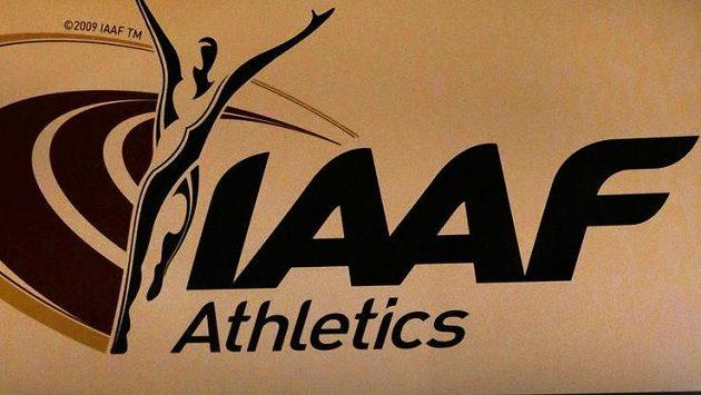Logo IAAF na jejím sídle v Monaku - ilustrační foto.