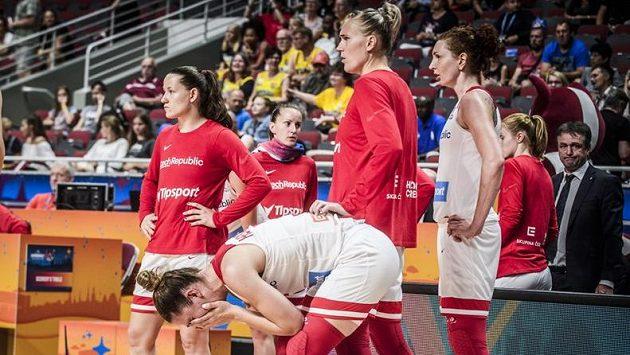 České basketbalistky jako by nemohly pochopit, že na ME končí.