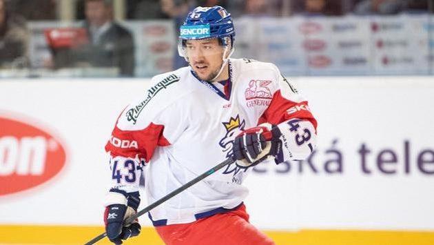Jan Kovář povede českou hokejovou reprezentaci na turnaji Karjala s kapitánským céčkem.