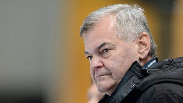 Trenér Vladimír Vůjtek povede českou hokejovou reprezentaci.